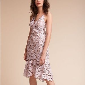Anthropologie/BHLDN Marina Lace Overlay Dress